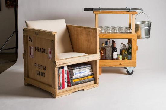 Recycled furniture - Muebles de madera reciclados ...