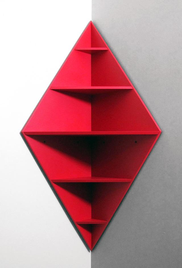 red corner bookcase 2