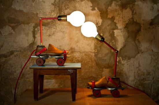 Goodel & Porti lamps by Studio ORYX