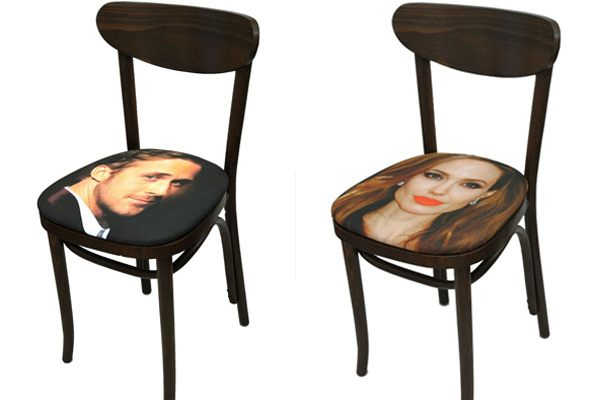 Celebirty Face Chairs