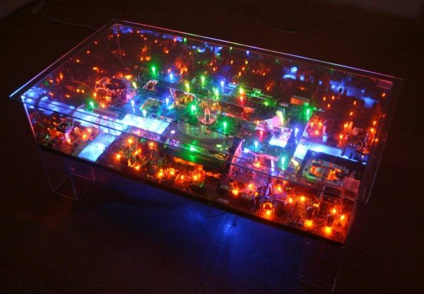 Electri-City Table by Benjamin Yates