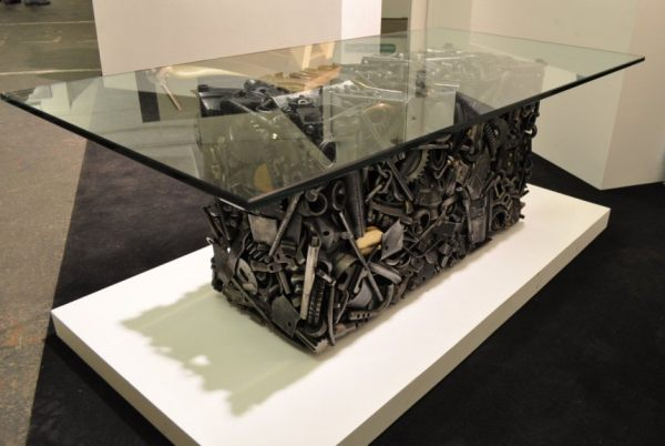 Recycled Coffee Table by Toby Poolman