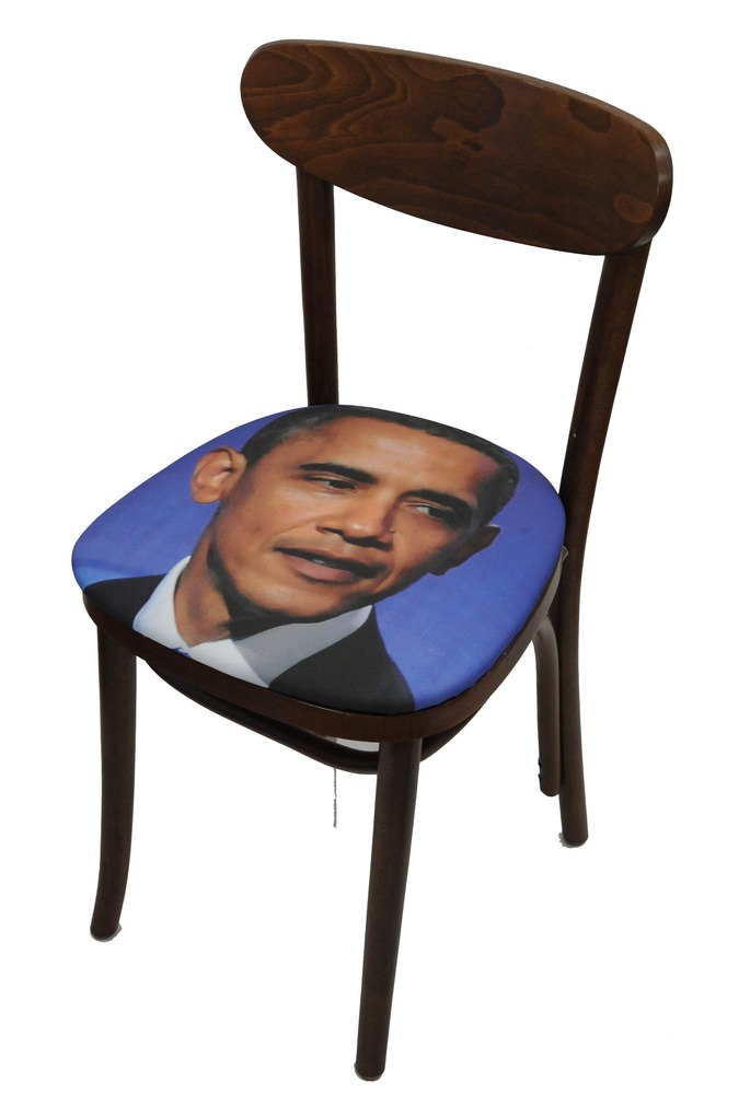Sit on My Face President Barack Obama Art Chair