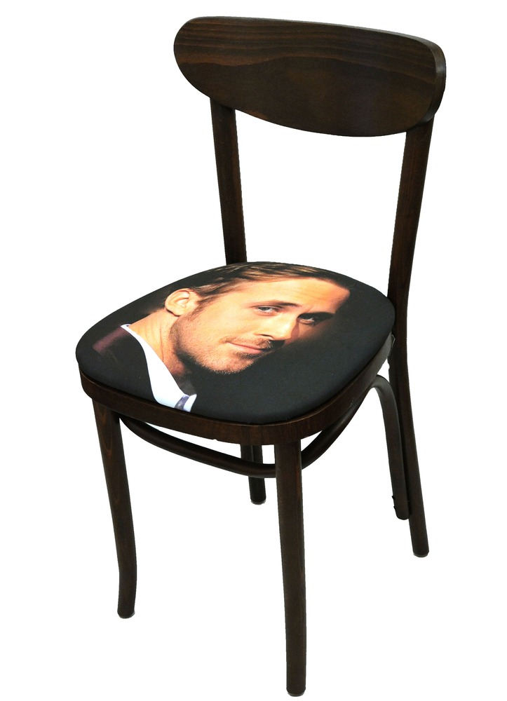 Sit on my Face Ryan Gosling Art Chair