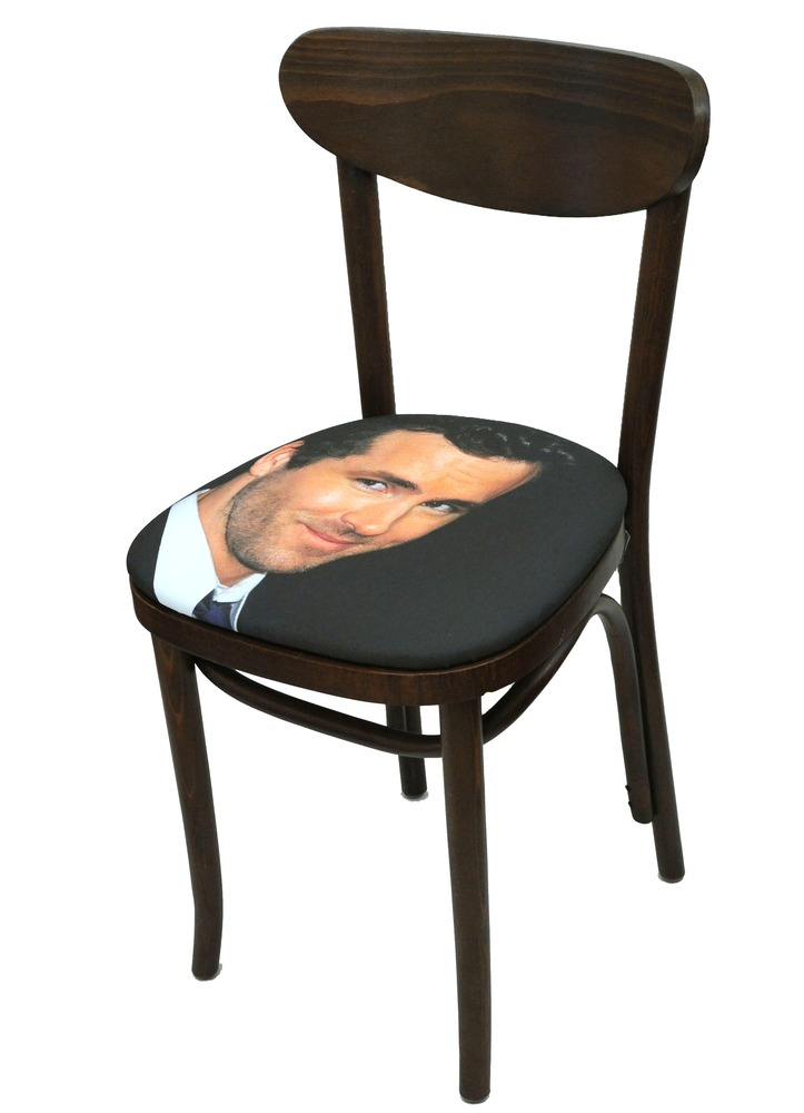Sit on my Face Ryan Reynolds Art Chair