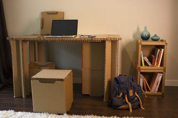 minji disposable cardboard furniture for micro