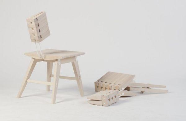 OSSA folding chair by Solveig Johannessen and Krystin Clarke ...