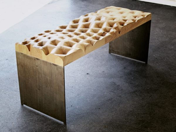 Furniture: I Like To Juxtapose The Cooler Industrial Elements In The  Interior With Furniture That Include Elements Of Luxury And Familiar  Comfort Found With ...