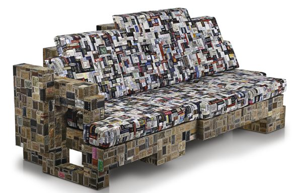 Label Whore Sofa by BRC Deigns