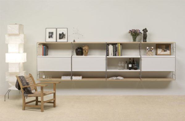 Tria shelving system by Mobles 114