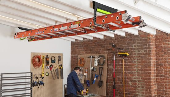 Quirky Clutch ladder system