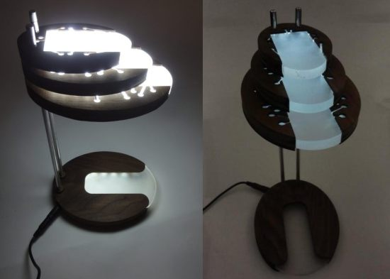 Reactive LED Desk Lamp 1