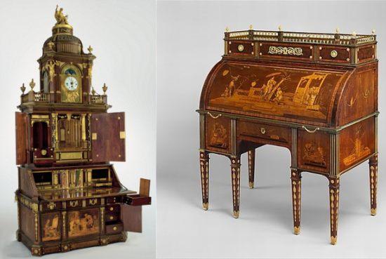 Roentgens transforming furniture