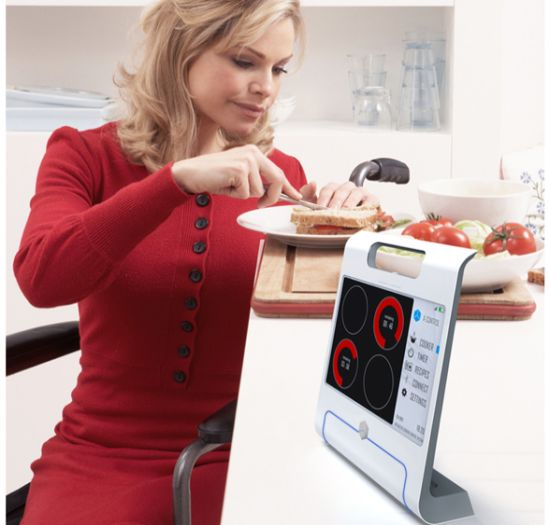 X-Control Interactive cooking system