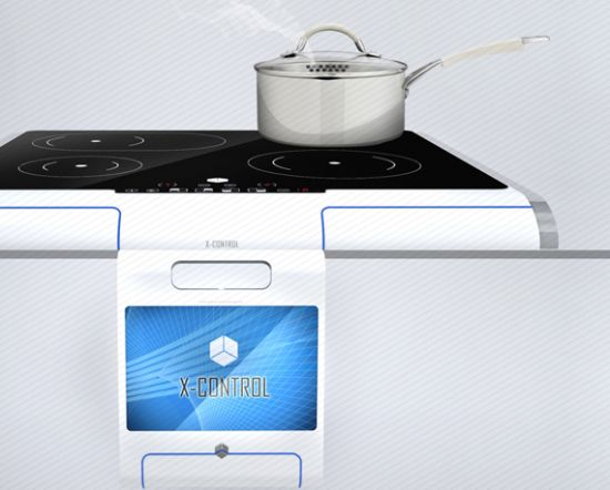 X-Control Interactive cooking system_01