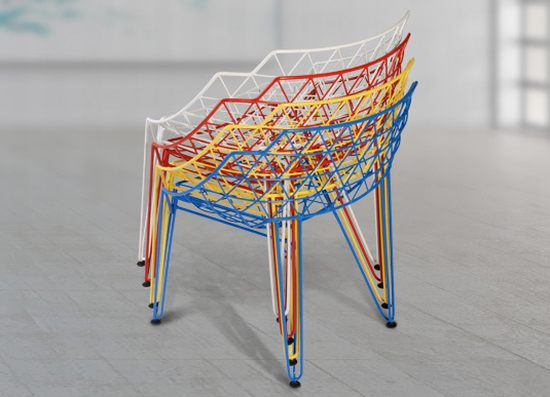 CU! Wire chair by Avinash Shende 1