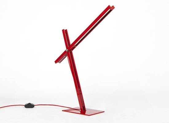 Cantilevered Desk Lamp by Taylor Donsker 5
