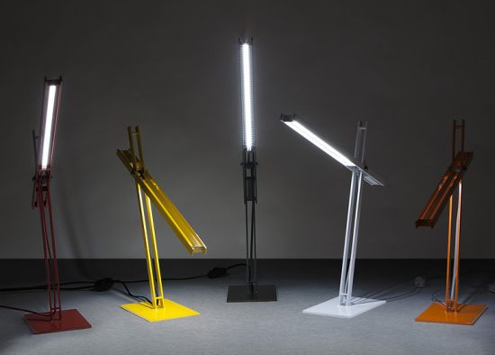 Cantilevered Desk Lamps by Taylor Donsker