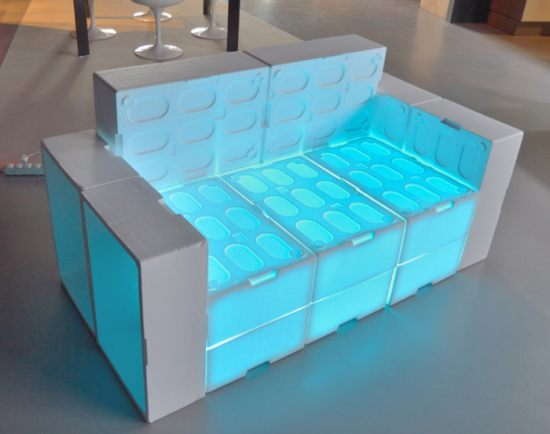 Muka Design Lab EPS fish boxes sofa