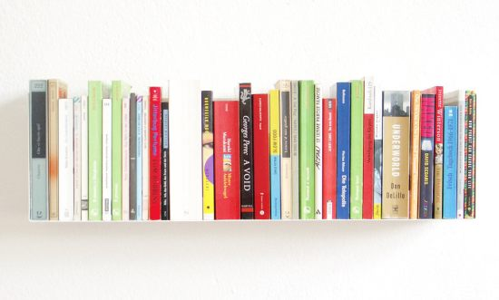Paperback & DVD shelf Linea1
