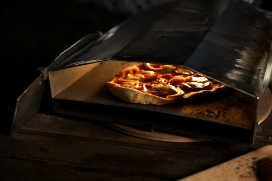 Wood-fired Uuni pizza oven 1