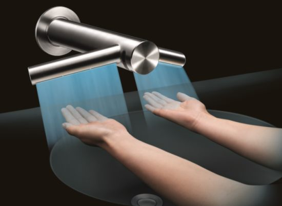 dyson s 1 000 airblade tap hand dryer washes and dries