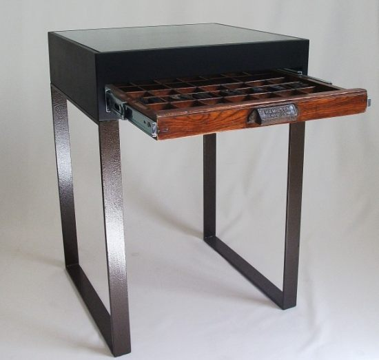 Katie Thompson Printers Tray Sidetable