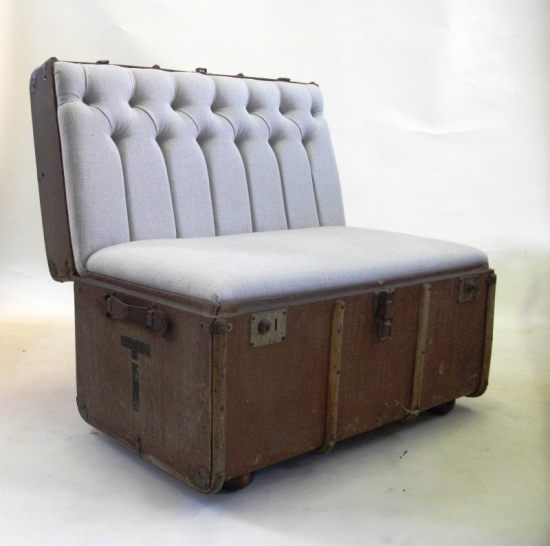 Katie Thompson Suitcase Chair