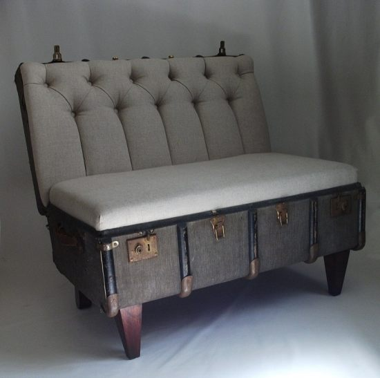 Katie Thompson vintage trunk chair