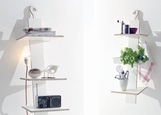 Moritz Putzier HangUp shelves