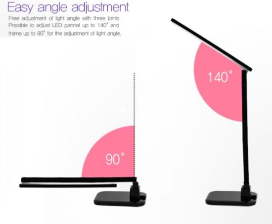 Satechi Smart Led Desk Lamp Comes With Touch Screen
