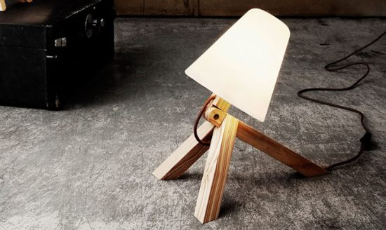 Spiff lamp by Gridy