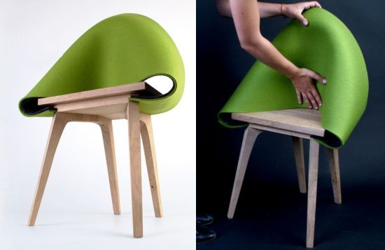 Núno chair by Emilia Lucht