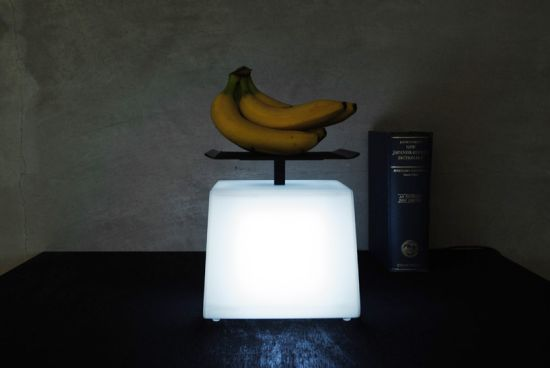 light=weight lamp by junji kawabe