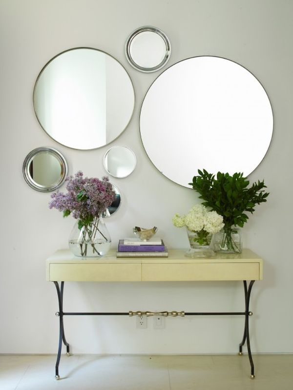 how to decorate your home using mirrors
