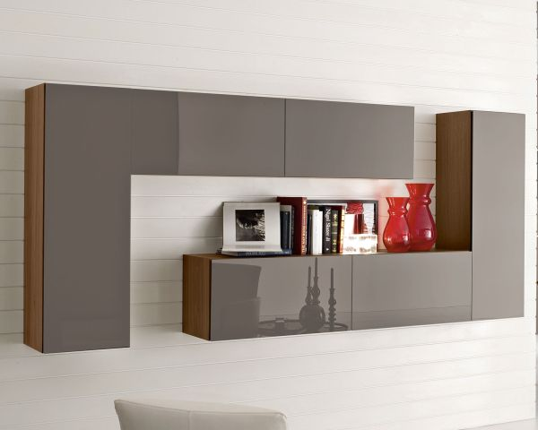delectable-furniture-fancy-and-cool-calligaris-brown-modern-drawer-and-minimalist-book-rack-also-chic-white-floor-tiles-cool-shelving-units-with-awesome-furniture-decoration-ideas
