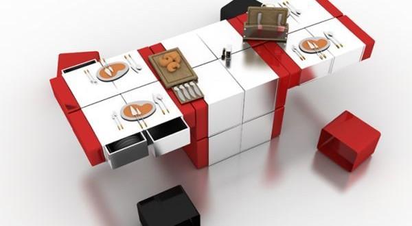 HAN's Designs' Multipurpose Dining Table