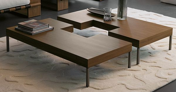 Coffee puzzle table