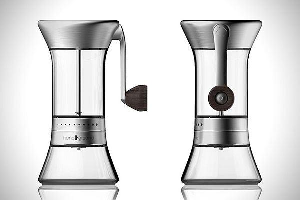 Hand Ground is the coffee grinder 2