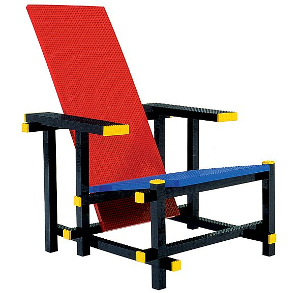 Lego inspired chair