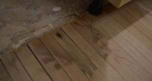 hardwood floors after water damage
