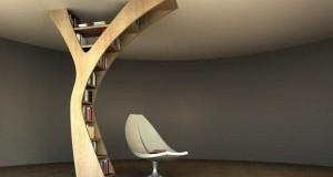 Yule bookshelf