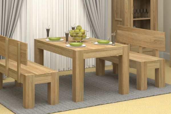 Oak wood furniture 1