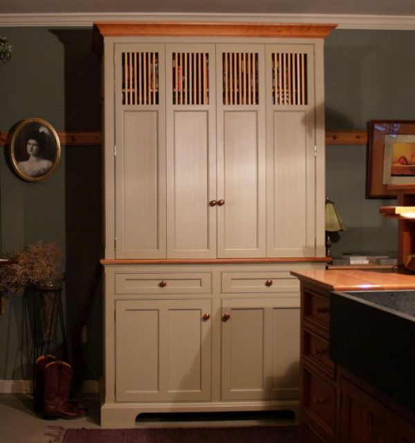 Antique Armoire Kitchen Pantry