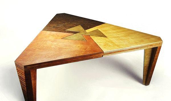 Three Play Modular Coffee Table