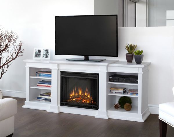 Electric fireplaces cum TV cabinets