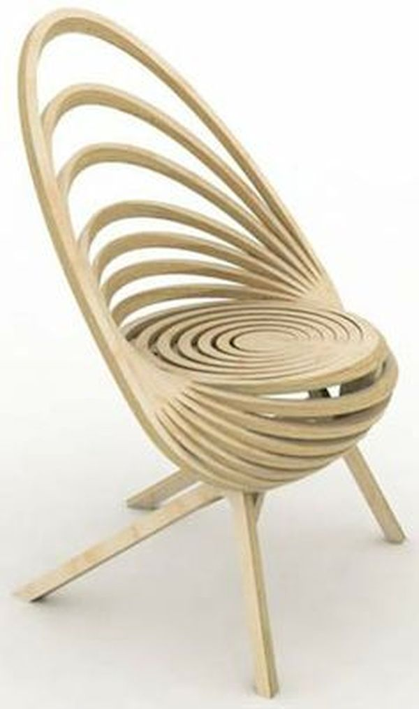 Spiral Wooden Chair (2)
