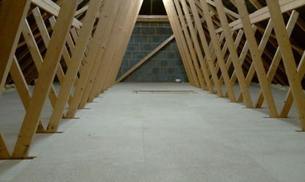 flooring in a loft
