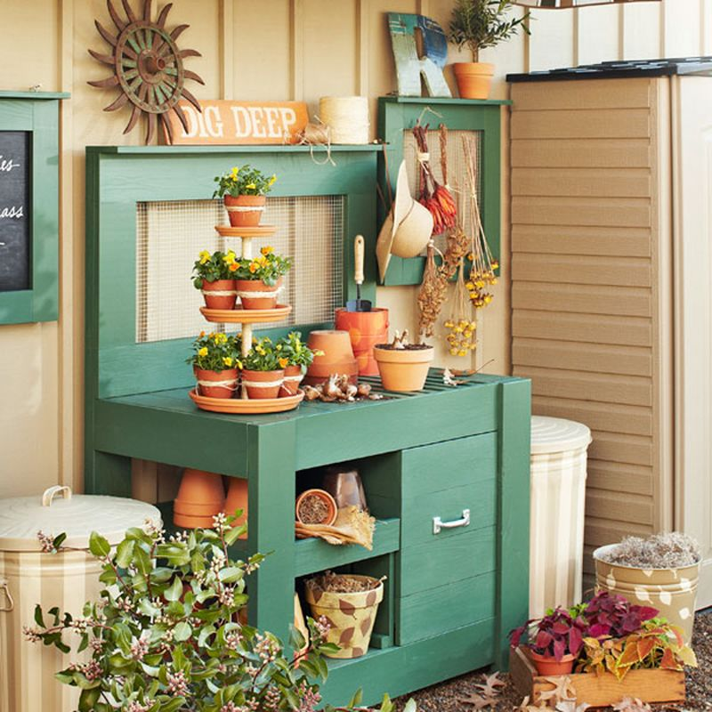 Organise Your Potting Bench