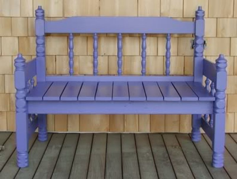 old headboards bench